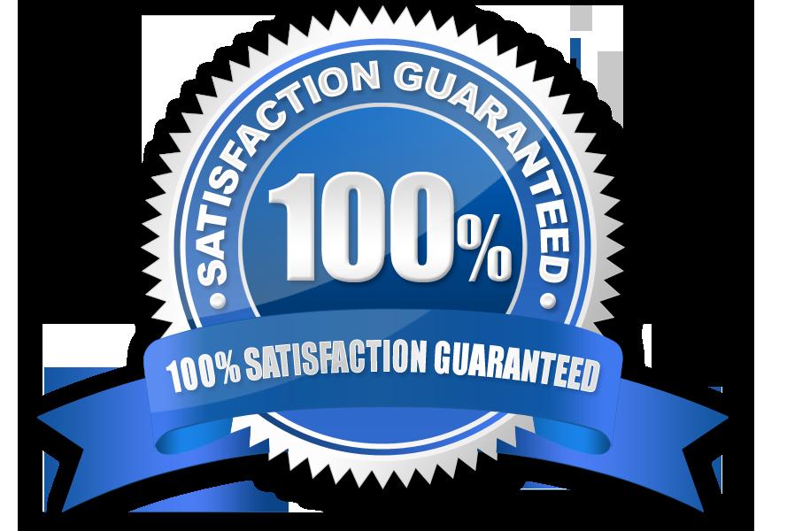satisfaction 100 percent