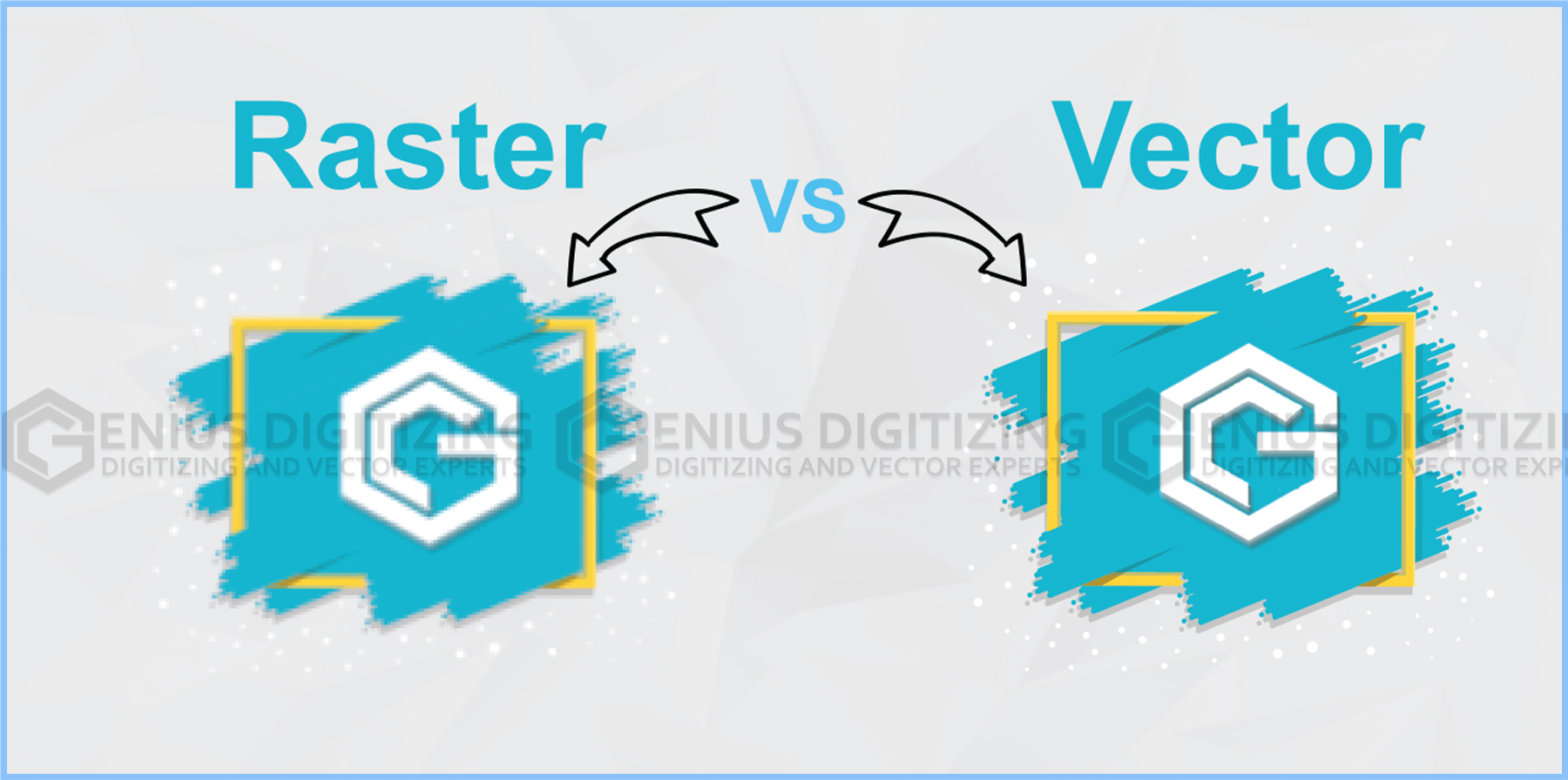 <p> 	Difference Between Raster And Vector Images</p>