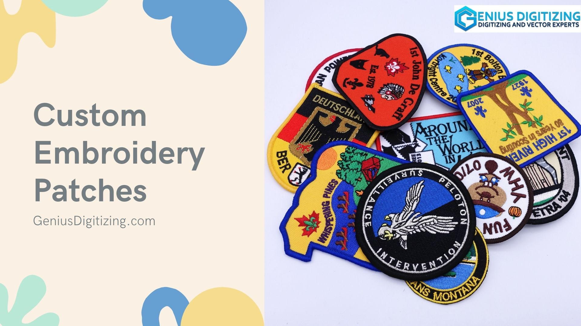 <p> Custom Embroidery Patches to Embellish All Your Attires</p> <p> </p>