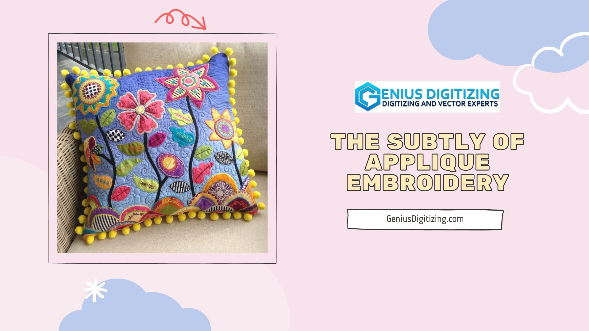 <div> <p> The Subtly of Applique Embroidery</p> </div> <p> </p>