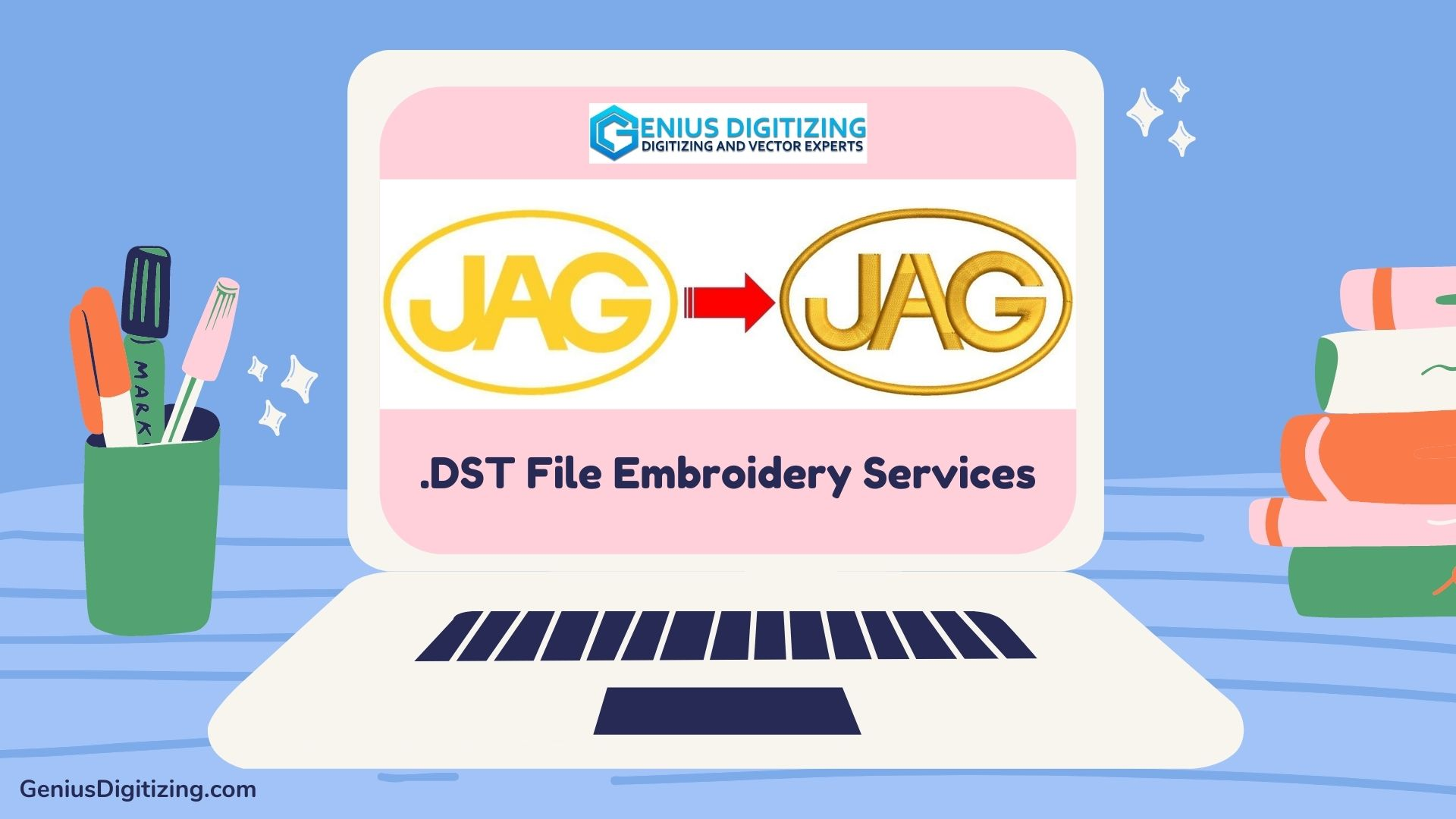<div> <p> The Best DST File Embroidery Services in USA</p> </div> <p> </p>