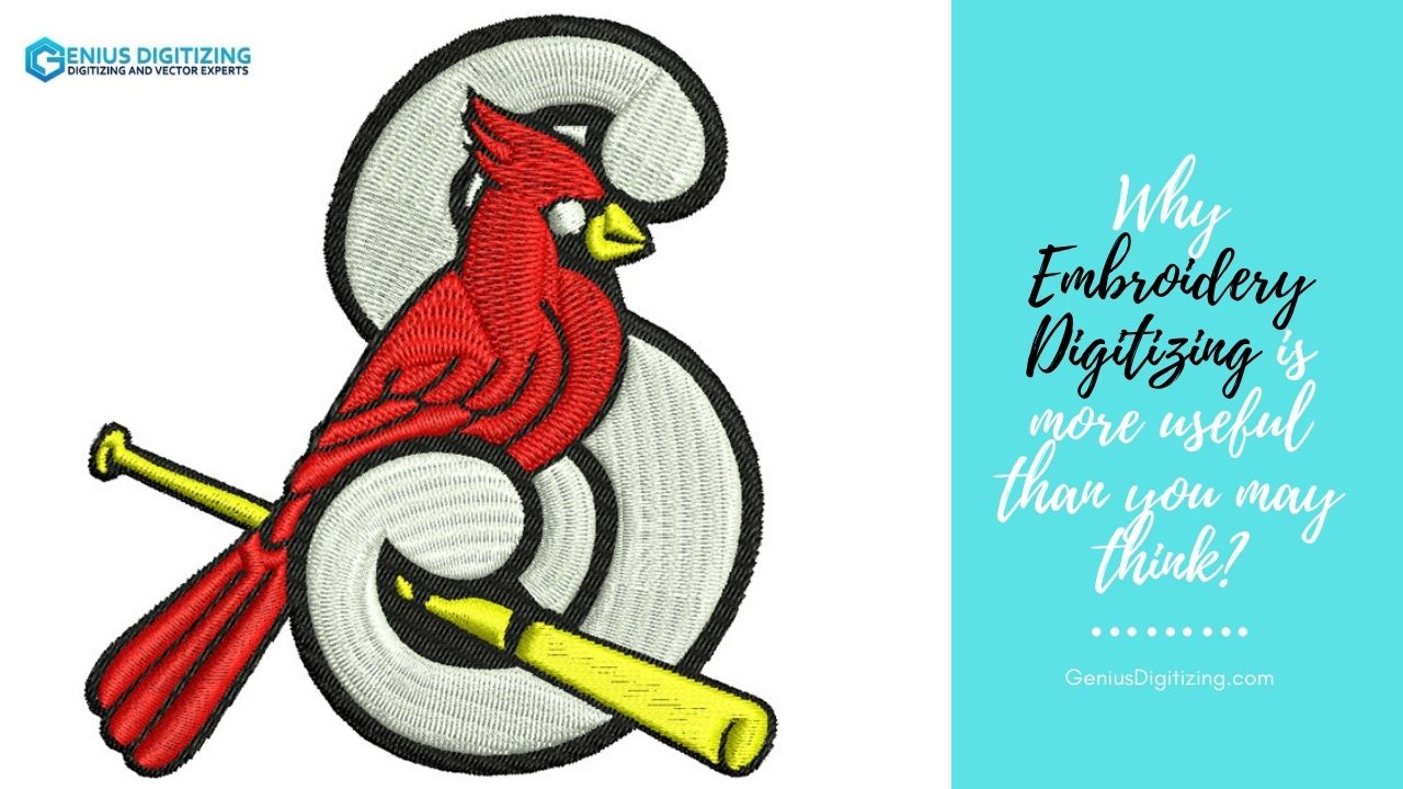 <p> 	Why Embroidery Digitizing Is More Useful Than You May Think?</p>