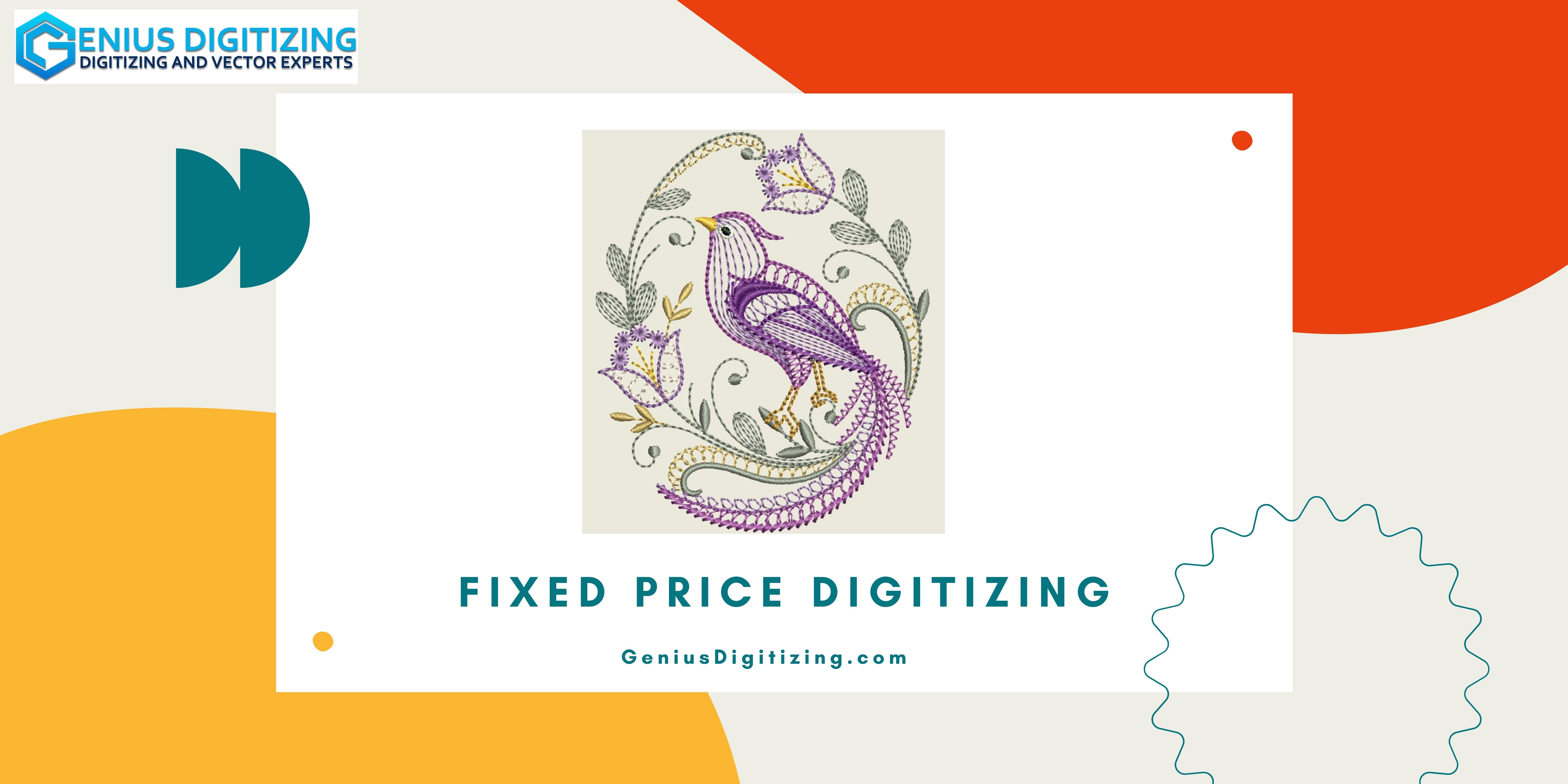 Benefit From Fixed Price Digitizing Today!