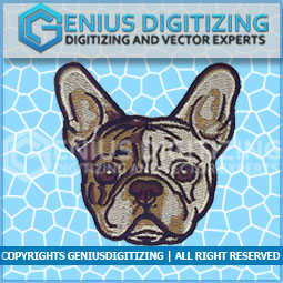 Genius Digitizing - Dog Embroidery