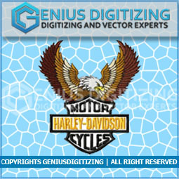 Genius Digitizing - Eagle Crest Embroidery