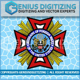 Genius Digitizing - United States Veteran